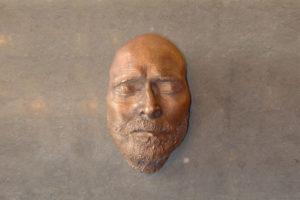 Totenmasken aus Bronze
